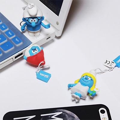 [트라이브] 스머프 캐릭터 USB 메모리 (16G)
