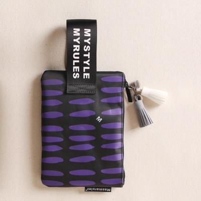 Purple tiger 스트랩 파우치