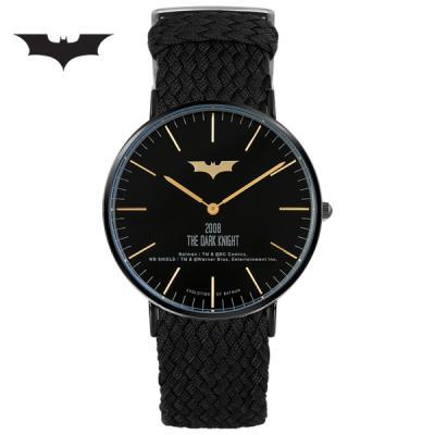 [디씨코믹스] 배트맨 위빙스트랩밴드 DC0080-BKWK 본사정품
