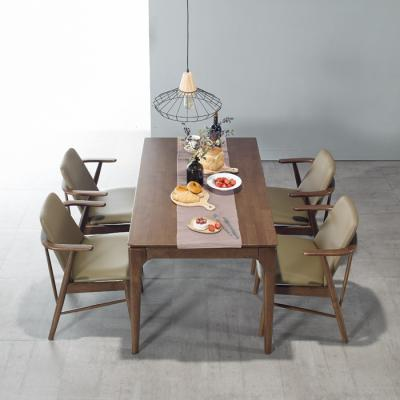 퍼피노 샘 원목 4인식탁 테이블 cc024-1
