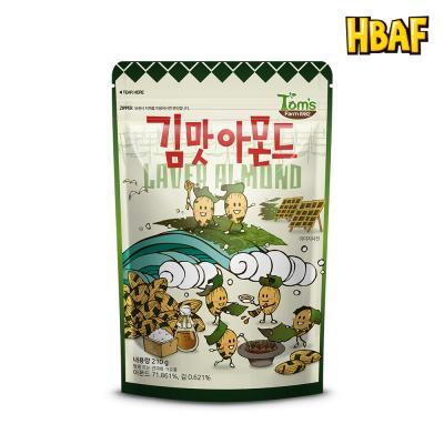 [길림양행] 김맛 아몬드 210g