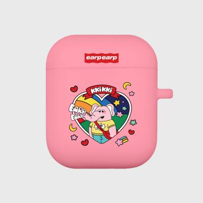 kkikki always happy-pink(Air pods)