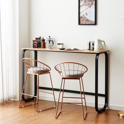 리브 1500 높은 홈바테이블 카페 커피숍 노트북 책상