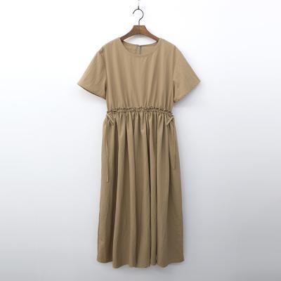 Rumi Pleated Long Dress
