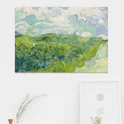 주문제작 액자 Gogh Green Wheat Field Auvers