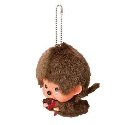 Fly! Big Head Monchhichi Boy Keychain