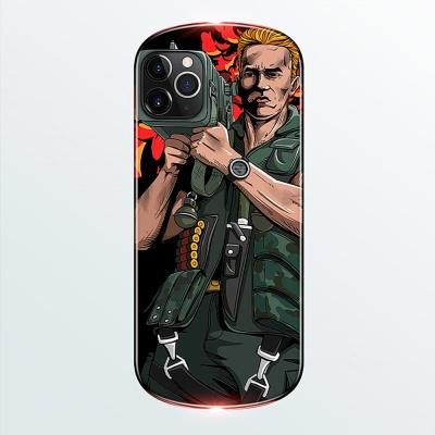 아이폰11 pro max 특이한 페이크 디자인 하드 케이스