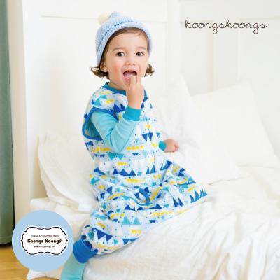 [극세사]블루마운틴 극세사수면조끼 유아수면조끼 아동수면조끼