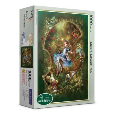 1000피스 앨리스의 모험 직소퍼즐 PL1320