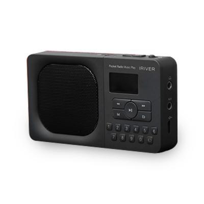 아이리버 포켓 라디오 뮤직 플레이어 IRS-B303 그레이