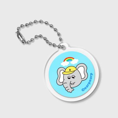 circle Rainbow kkikki-sky blue(키링)