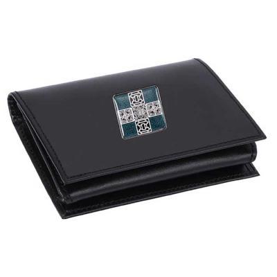 Modern 창살문 그린자개 소가죽 명함지갑 USB 8GB포함