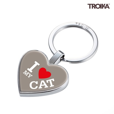 [트로이카] I LOVE MY CAT 펜던트 키홀더 (KYR22-A179)