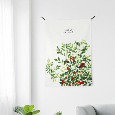 패브릭 포스터 / 오렌지 자스민 1