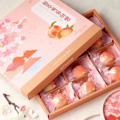 [오븐] 달콤하고 촉촉한 복숭아빵 12개입
