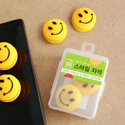 6p 스마일 메모판 자석/회사납품용 화방납품용