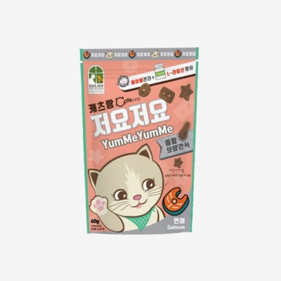 고양이간식 저요저요 연어맛(60g) 반려묘 져키 건식