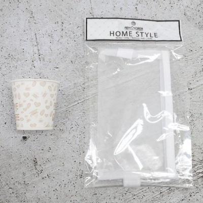 메쉬 필통파우치 L 화이트 보조가방 예쁜문구