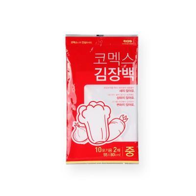 코멕스 김장 비닐봉투백 중 10포기용 2매