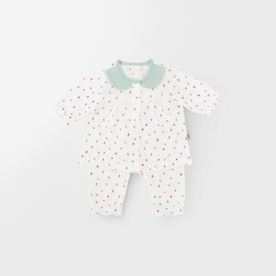 [메르베] 미니베리 신생아 아기내복/내의/아기실내복_여름용(7부)