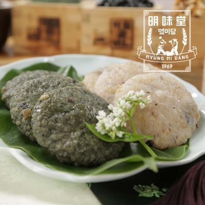 밥알떡 (현미밥알떡 10개+쑥밥알떡10개) x 2세트