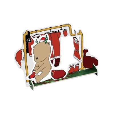 크리스마스 카드-양말 신는 루돌프