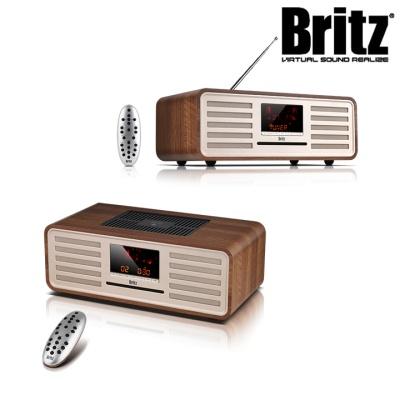 브리츠 진공관 블루투스 오디오 BZ-T8800 (FM라디오 / AUX연결 / 리모트 컨트롤)
