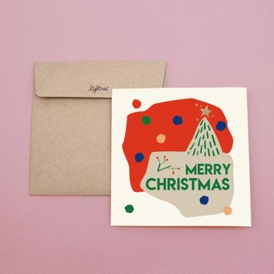 LIGHTREE CHRISTMAS CARD