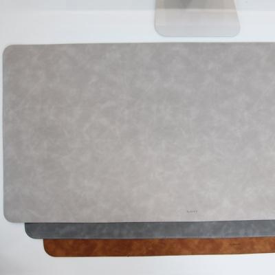 데얼스 촉감 데스크매트 800X400 가죽 대형 책상패드