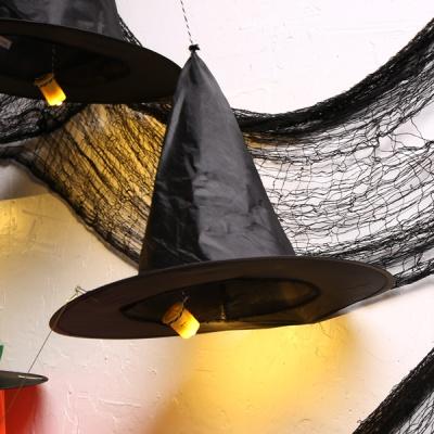 할로윈 모자 행잉 장식세트 (호박)
