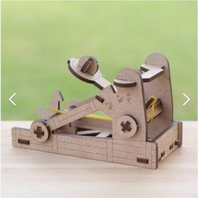 3D입체퍼즐 나무퍼즐 각도조절 투석기 만들기 수업 놀이키트 장난감 집콕놀이 취미