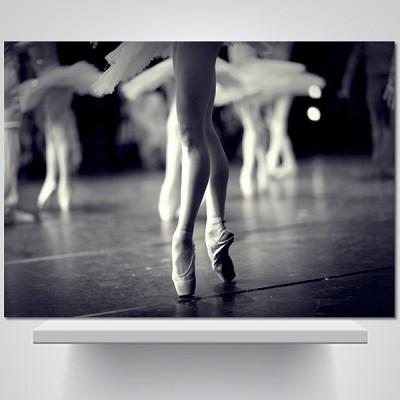 발레리나의 발끝 - 감성사진 폼보드 액자
