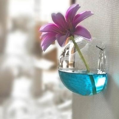 [adico]유리꽃병 - 벽걸이