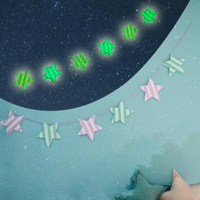 파티 야광별 가랜드(6p)