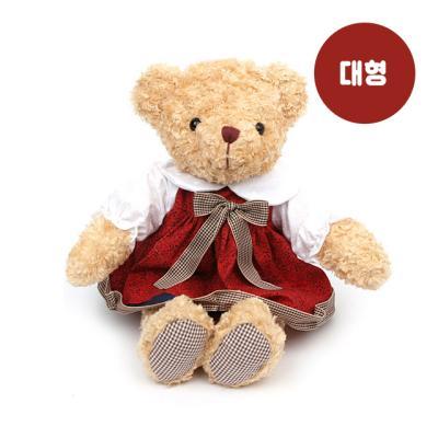 원피스테디베어(대형)-여자곰