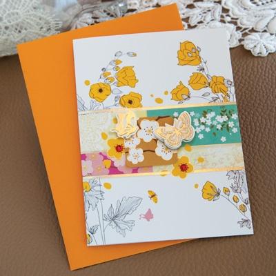 벚꽃나비카드 FT1038-4