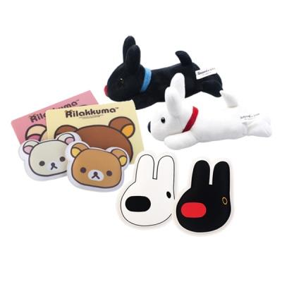 [1+1] 캐릭터 마우스 손목보호대