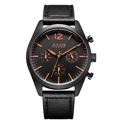 [쥴리어스 옴므 공식] JAH-099 남성시계 가죽시계
