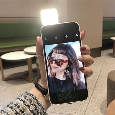 아이폰 12 11 프로 맥스 x xr 셀카 조명 일체형케이스