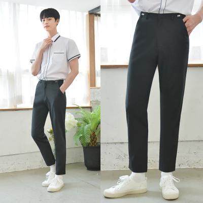 [하복][허리조절] 스판 블랙 교복바지(남자)