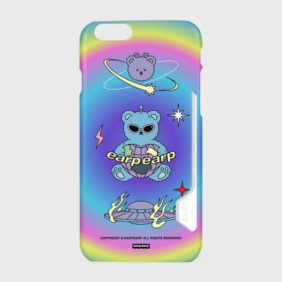 Space night bear-rainbow(카드수납케이스)