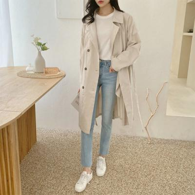Spring Soft Trench Jacket