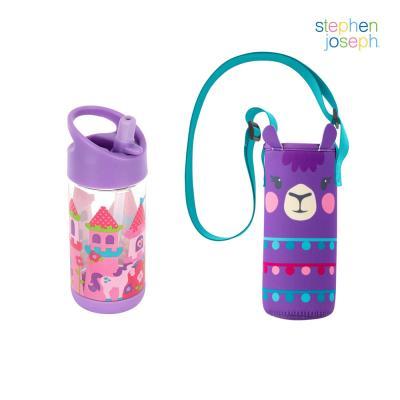 어린이집 선물 세트(물병가방+빨대물병) - 프린세스