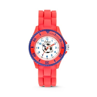 NEW 컬러리 큰축구공 어린이시계  키즈시계