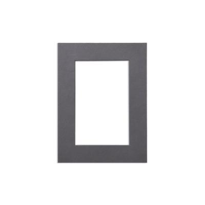 포토프레임 블랙매트지 6x8 6R (홀 4x6) - 사진 액자 여백 종이