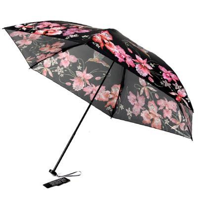 [더로라] 일본 직수입 5단 양우산- 초경량 양산 칼라버드 E821