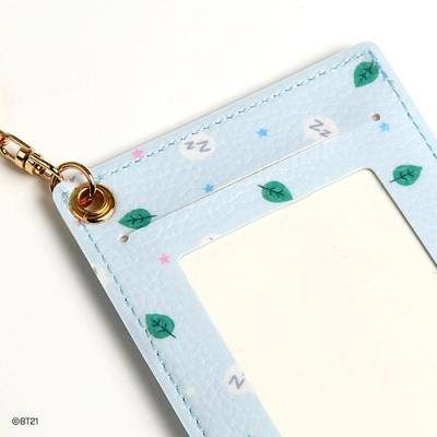 [BT21] 베이비 레더패치 카드홀더