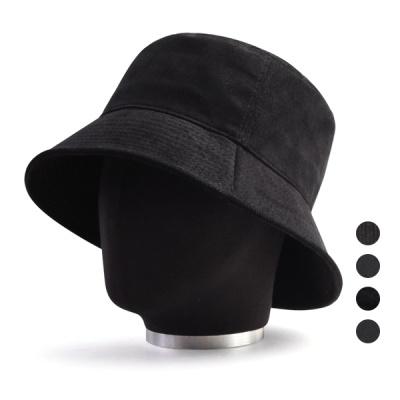 [디꾸보]블랙 페이드 벙거지 모자 HN657