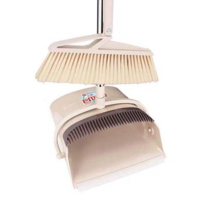 키밍 180도 회전식 빗자루 쓰레받기 세트 청소용품