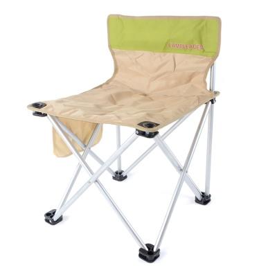 마린 등받이 접이식의자(베이지) / 접이식 캠핑의자